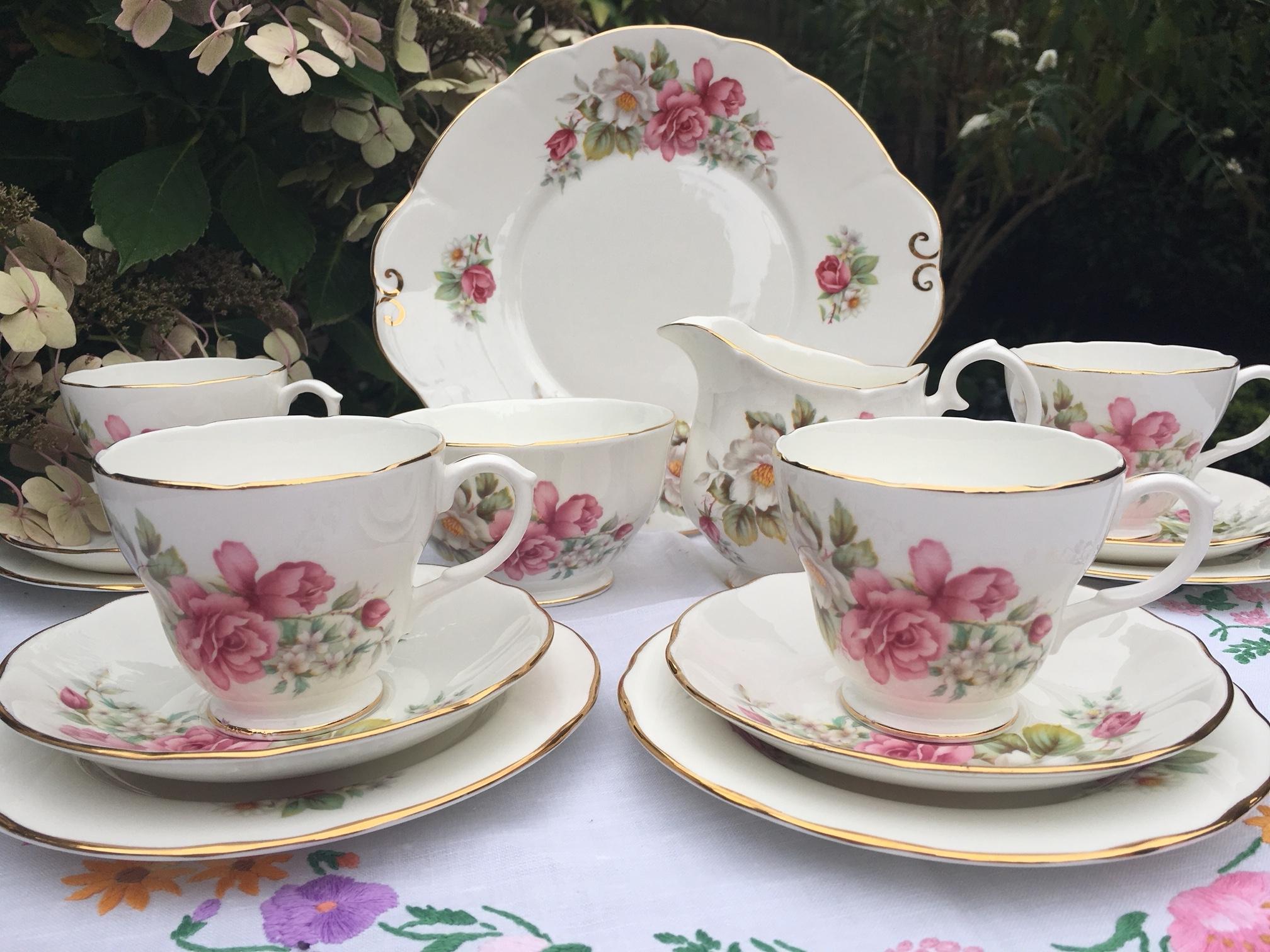 Duchess vintage teaset