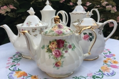 Royal Albert, Sadler and Royal Grafton teapots
