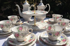 Royal Stafford Rochester vintage teaset