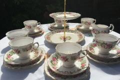 Colclough vintage teaset